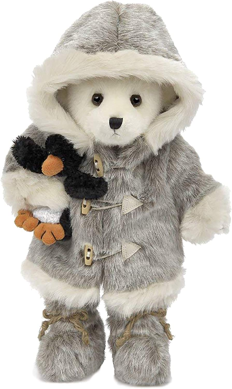 "Bearington Iggy and Lou Polar Bear and Penguin, Stuffed Animal Toy, 14"""