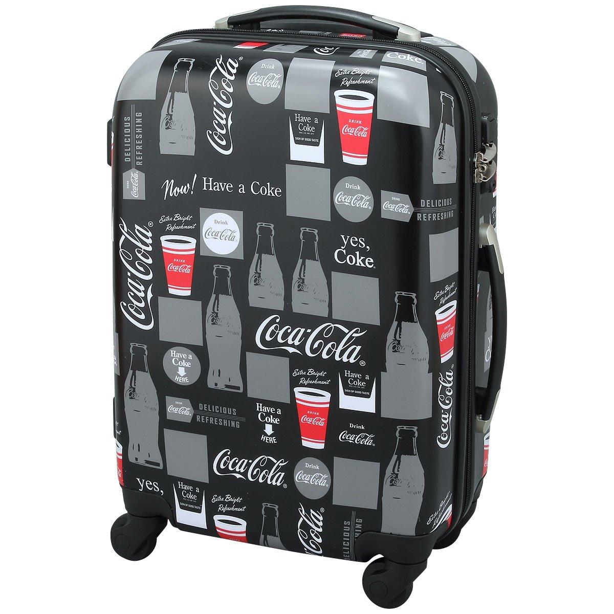 Coca-Cola(コカコーラ) キャリーバッグ コンツァーボトル ブラック   B01M3U8YQ5