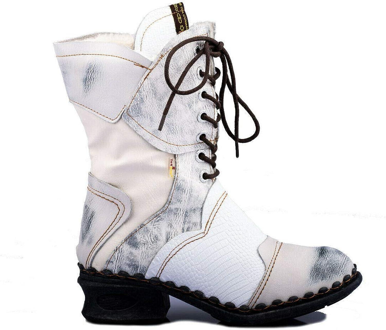 ATM TMA 5766 Bottes dhiver Confortables pour Femme Blanc Toutes Tailles 36-42