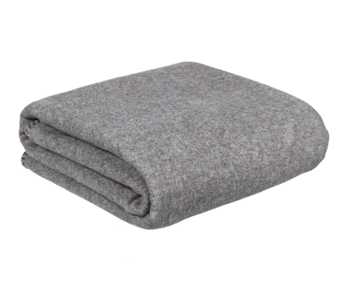LEXINGTON 20201447010 Tagesdecke, Baumwolle, Grau und Weiß, 160 x 220 x 1 cm