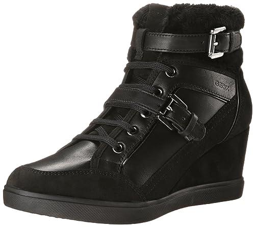 85ba160eedd Geox Women s D Eleni D Wedge Sneaker  Amazon.ca  Shoes   Handbags