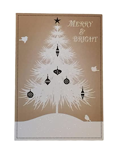 holiday boxed christmas cards set of 28 variety to choose from merry bright