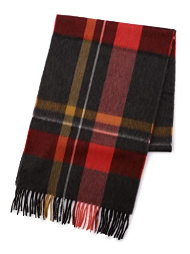 Wool Angora Scarf 118-36-0052: Red
