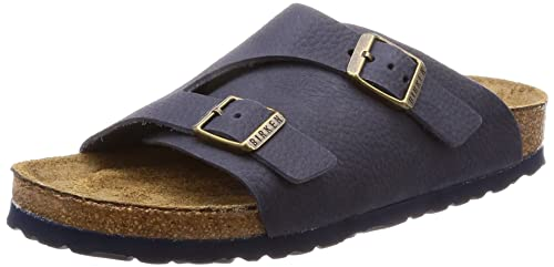 e6bcac253 Birkenstock Zurich Soft Nubuck Leather Soft Footbed Sandals  Amazon ...