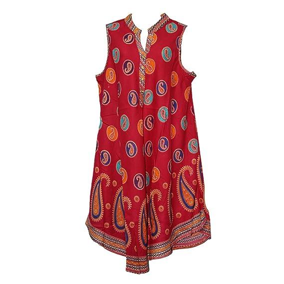 db7e86e985d Miss Trendy Women Dress Tunic Ladies Indian Summer Beach Top Kaftan Hippie  Boho Party Dress (One Size (16 To 24)