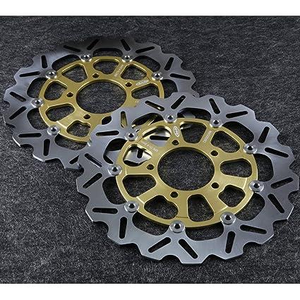 Amazon.com: GZYF Front Brake Disc Rotors Fit KAWASAKI Ninja ...