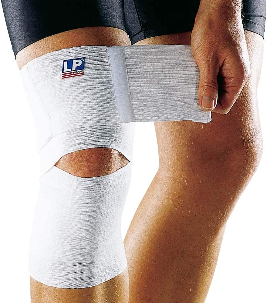 Amazon Com Lp Support Elastic Knee Compression Bandage Bandage