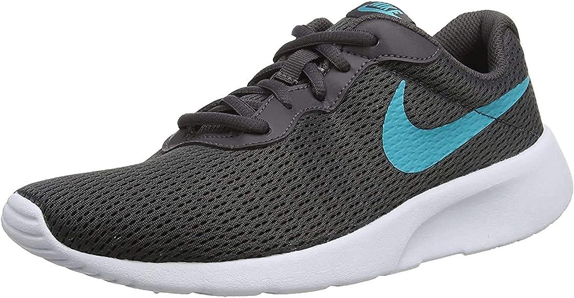 Nike Tanjun (GS), Zapatillas de Running para Niños, Gris (Thunder Grey/Teal Nebula 023), 36 1/2 EU: Amazon.es: Zapatos y complementos