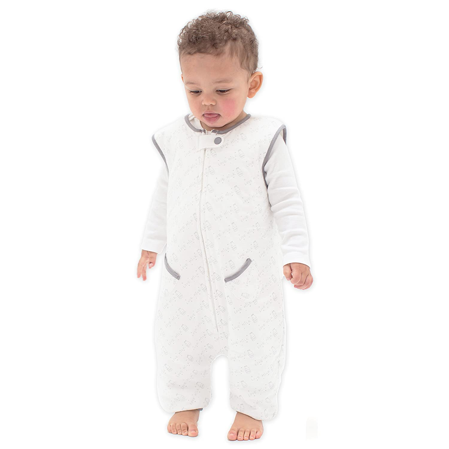 fa6f33fb6 TEALBEE DREAMSUIT: Toddler and Early Walker Baby Wearable Blanket - 1.2 TOG  Sleeping Sack with...