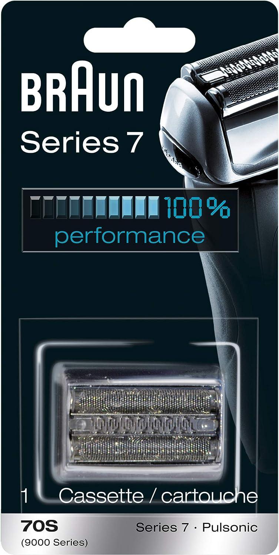Braun Afeitadora Series 7años 70piezas de repuesto, papel aluminio cabeza