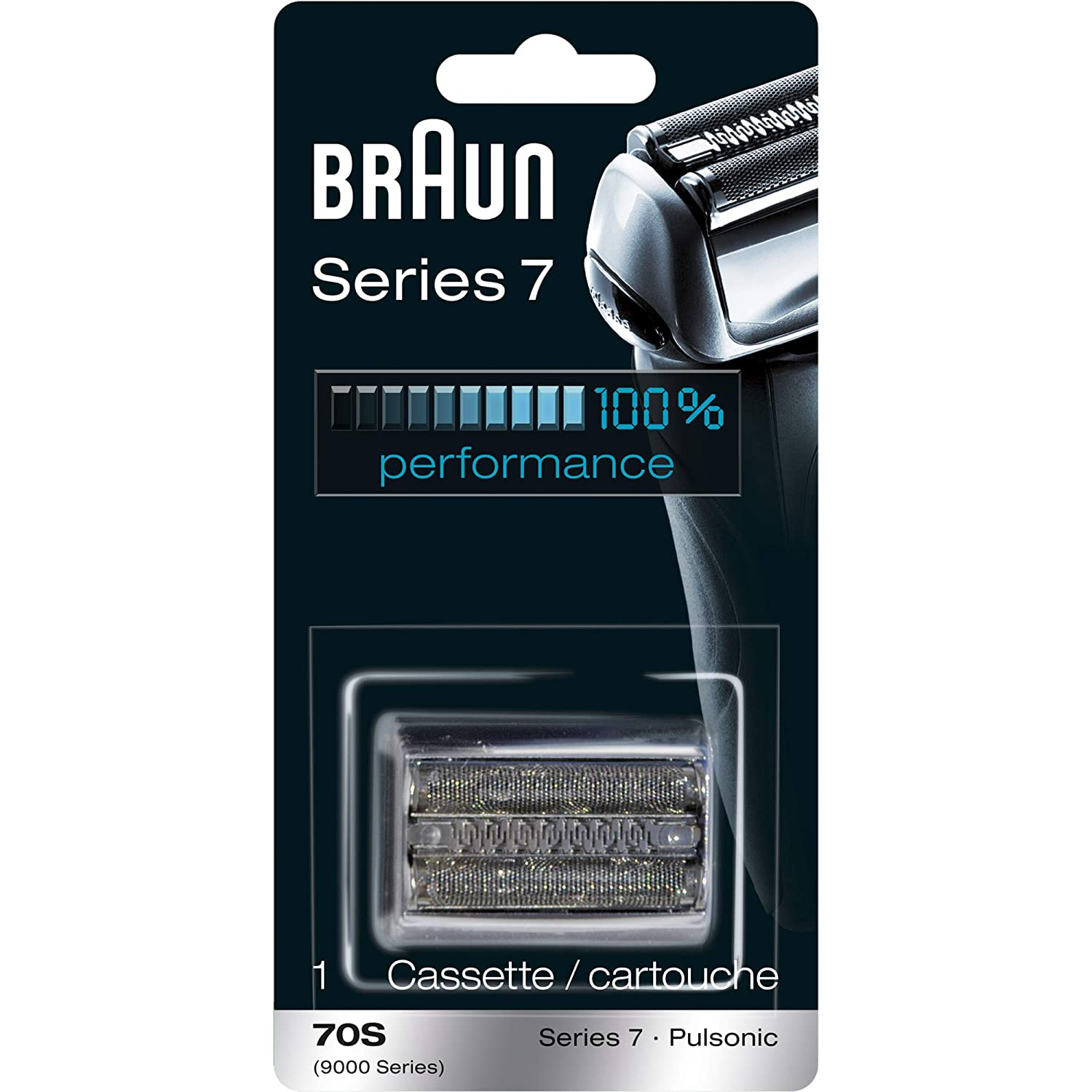 Amazon Com Braun Series 7 70s Electric Shaver Head Replacement Cassette Silver Beauty