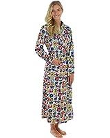 Frankie & Johnny Women's Ultra-Soft Fleece Long Robe