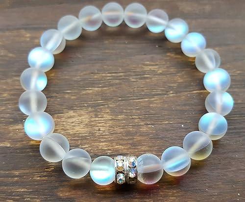 Czech glass bead stretch bracelets