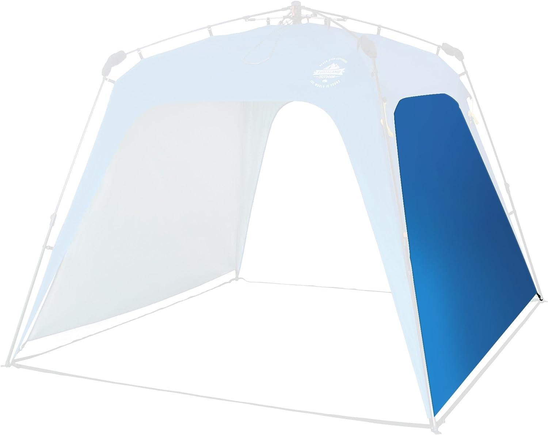 Lumaland Paneles Laterales de Tienda de campaña Gazebo Cenador Pop Up SPF 50+ Camping Acampada Festival Azul: Amazon.es: Jardín