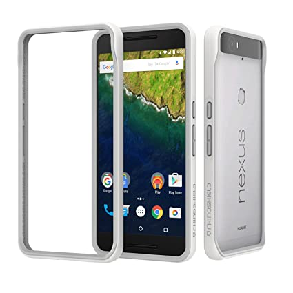 brand new 76122 ad7d4 Nexus 6p Case, RhinoShield [CrashGuard] Heavy Duty 11 ft Drop Protection  [High Durability] Thin Lightweight Protective Bumper - Perfect w/ Skin  [Great ...