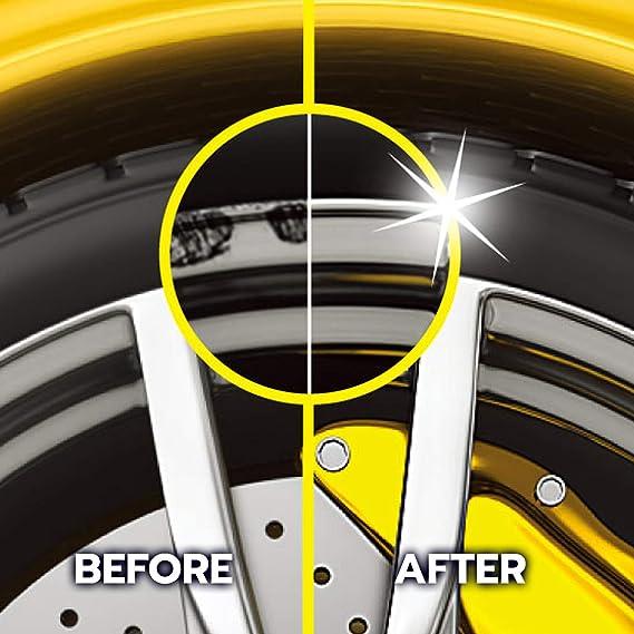ATG - Kit de reparación de llantas de aleación y ruedas de acero para daños en la superficie