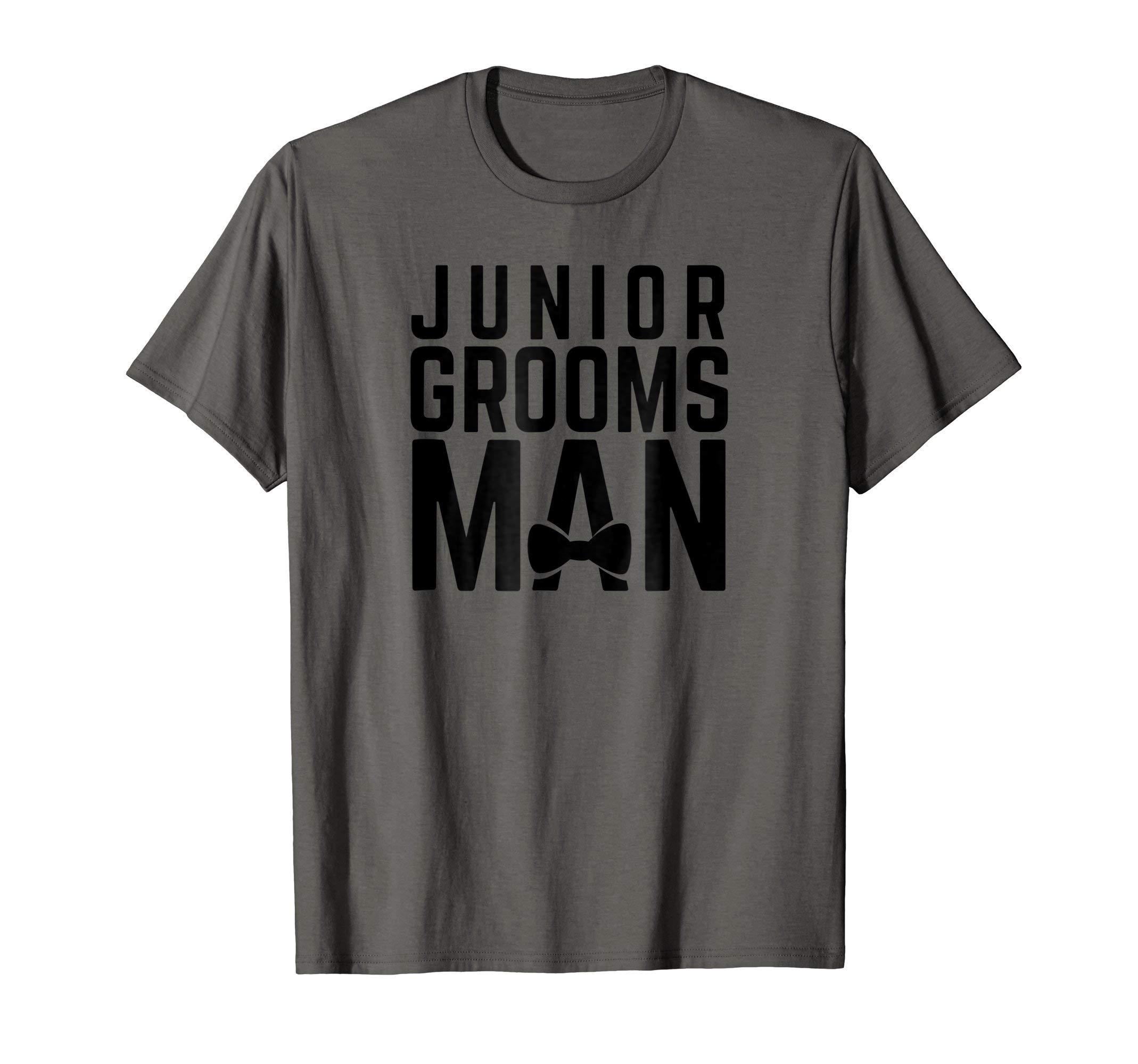 Wedding Bridal Party Junior Groomsman T-Shirt