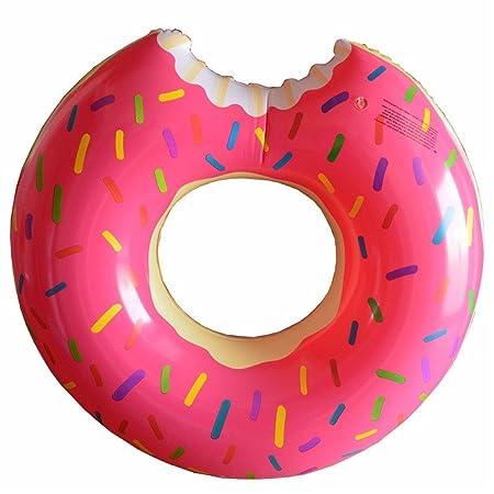 CARLs store Flotador Hinchable Gigante en Forma de rosquilla,XXL 47 Inch (Rosa): Amazon.es: Juguetes y juegos