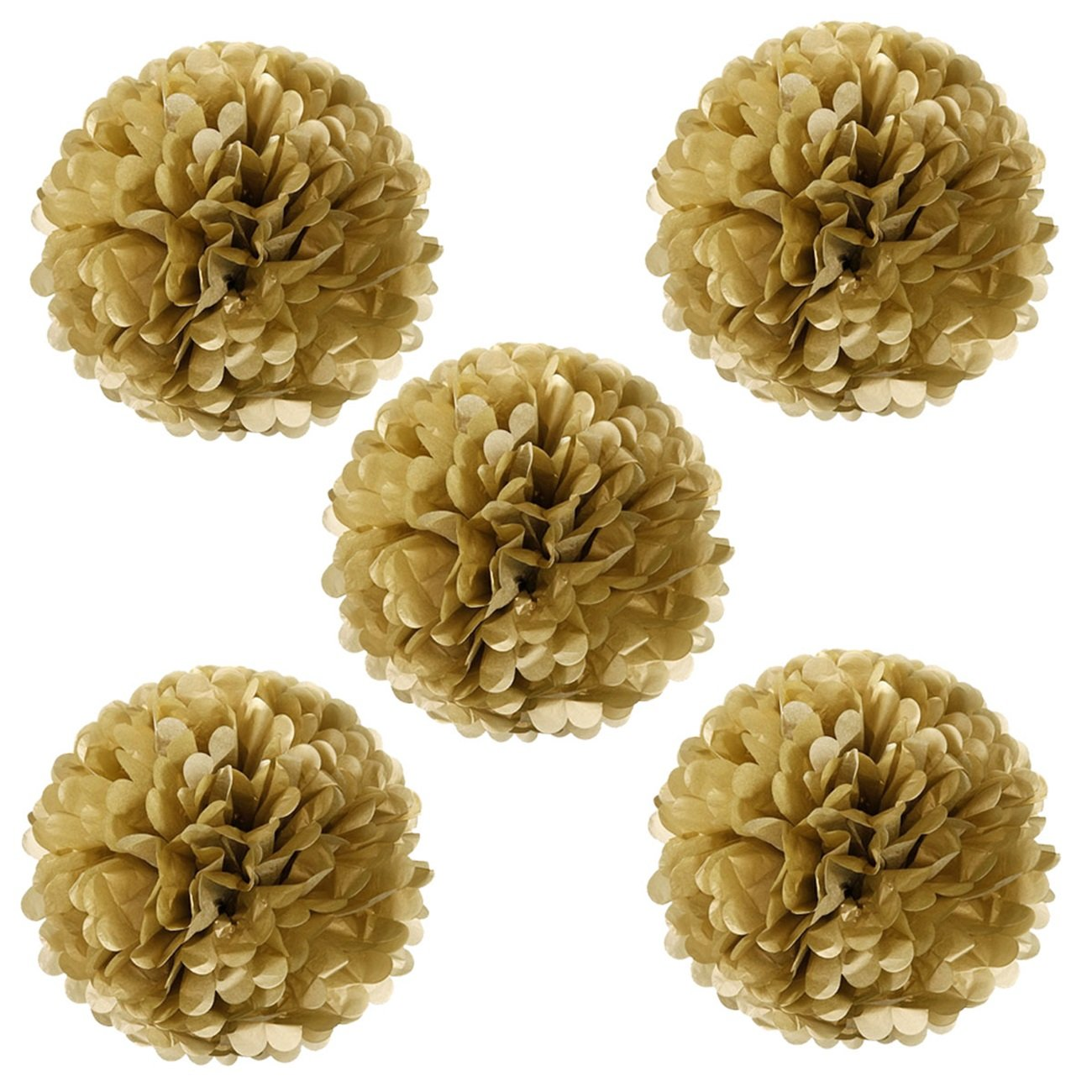 Amazon.com: Wrapables Tissue Pom Poms Party Decorations for Weddings ...