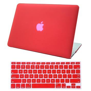 Amazon.com: HDE MacBook Air 13 Case Solid Color Matte Plastic Slim ...