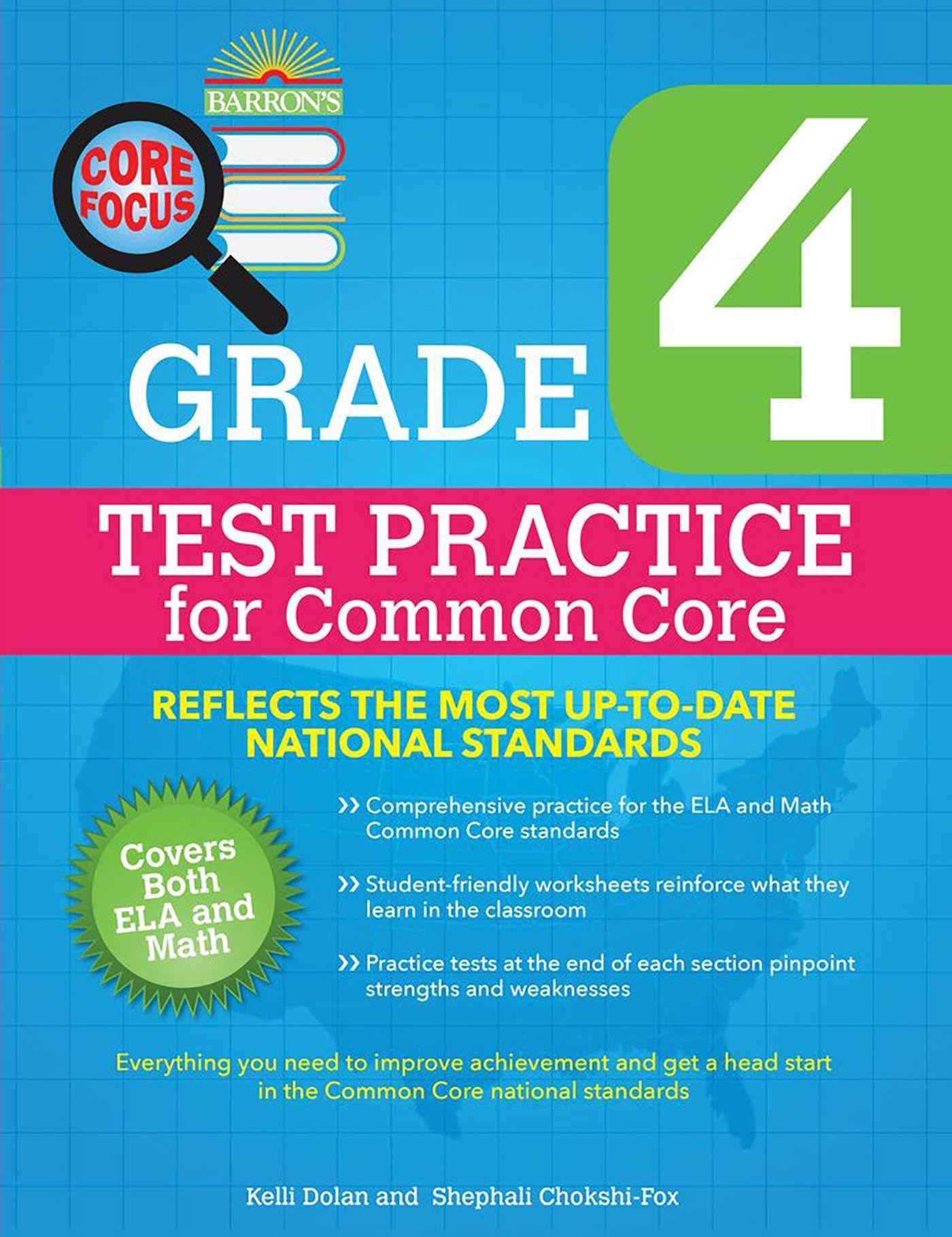 Amazon.com: Barron\'s Core Focus Grade 4: Test Practice for Common ...