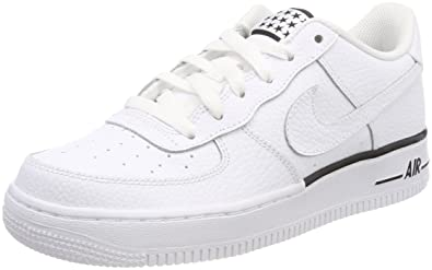 nike air force 1 gs leder jungen kinder sneaker