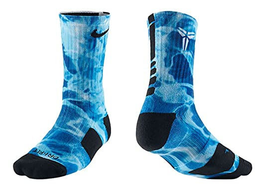 best sneakers 30b5a ce63c Nike Men`s Kobe Elite Digital Print Basketball Crew Socks (X-Large,