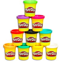 Play-Doh - 10 Pack Case of Colors - 10 x 85g tubs - Assorted colours of Non-Toxic Dough - Kids Sensory Toys - Arts and…