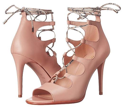 Womens Shoes COACH Kira Beechwood/Cream Soft Shine Calf/Snake