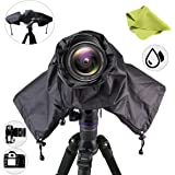Getfitsoo Professional Waterpoof Rain Cover for Canon Nikon DSLR Cameras - Protect from Rain Snow Dust Sand
