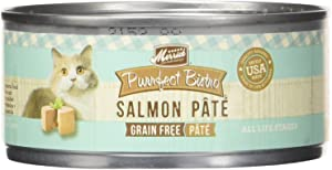 Merrick Purrfect Bistro Grain Free Salmon Pate Canned Cat Food, 5.5 oz, Case of 24