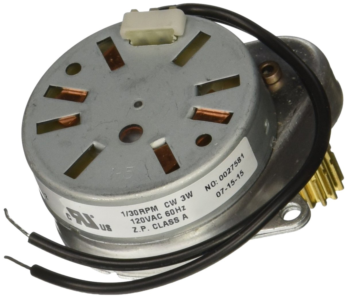 Fleck 5600 Replacement Timer & Piston Drive Motor - Genuine Fleck Part# 18743
