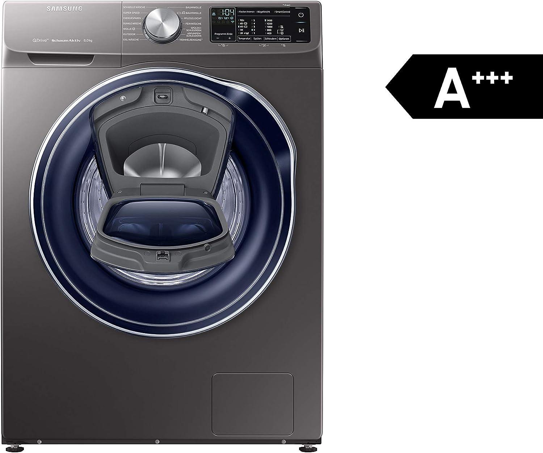 Samsung ww8am642opx/EG lavadora–Acero inoxidable, 8kg, 1400U/min, A + + +
