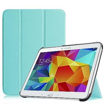 "1325c6c1417 Fintie SlimShell Funda para Samsung Galaxy Tab 4 10.1"" - Súper Delgada  y Ligera Carcasa"