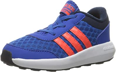 pegamento Shinkan desayuno  Amazon.com | adidas NEO Cloudfoam Race Inf Sneaker (Infant/Toddler),  Blue/Infrared/Collegiate Navy, 4 M US Toddler | Sneakers