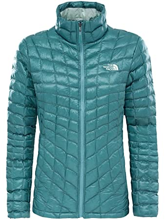 8eda4d2ded THE NORTH FACE W Thermoball Full Zip Jacke, Damen XL Mehrfarbig  (trlsgn/trlsgbrp