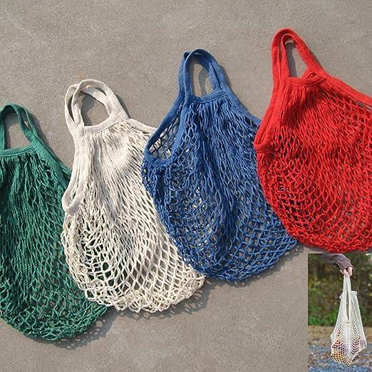Bolsa de algodón orgánico bolsa de la compra cuerda de malla jooks ...