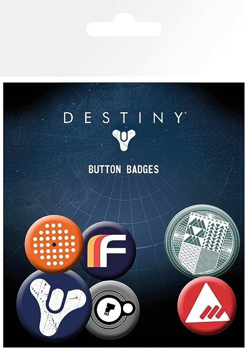 Destiny GB Eye LTD, Mix, Pack de Chapas, See Picture, Unico: Amazon.es: Hogar