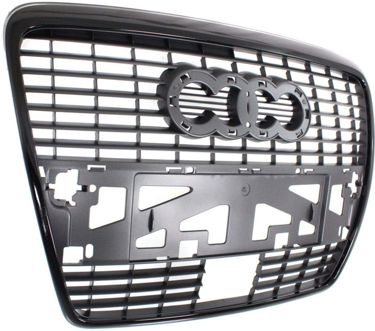 Audi A6 2004-2009 Front Bumper Grille With Chrome Frame New High Quality