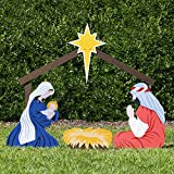 Outdoor Nativity Store Classic Outdoor Nativity Set - Holy Family Yard Scene (Large)