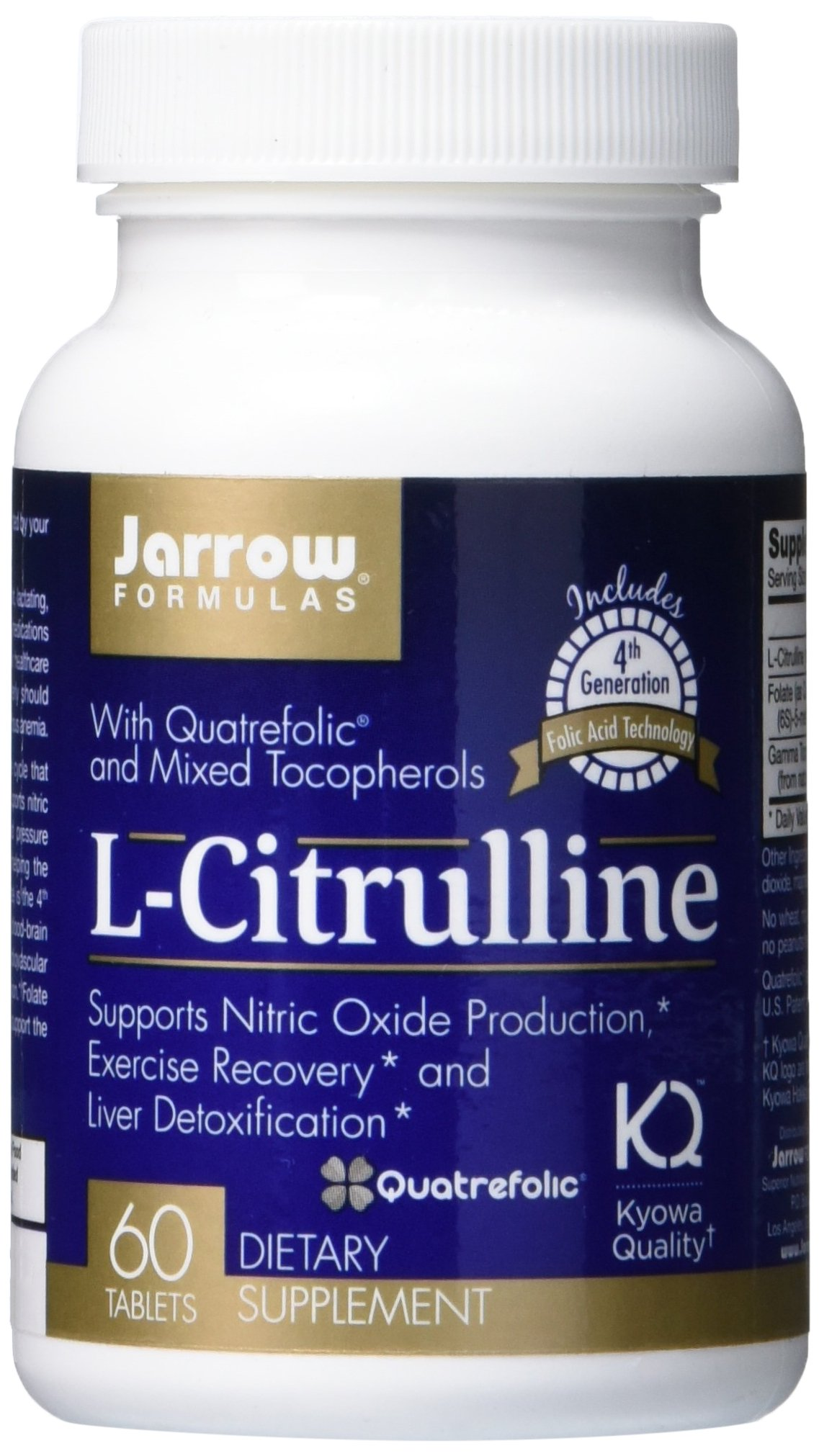 Jarrow Formulas L-Citrulline, Supports Liver Health, 60 Tabs by Jarrow Formulas