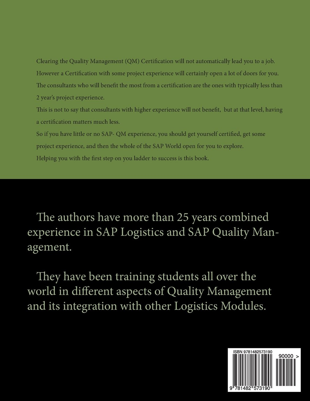 Sap certified application associate quality management with erp sap certified application associate quality management with erp 60 n thind s samuel 9781482573190 amazon books 1betcityfo Images