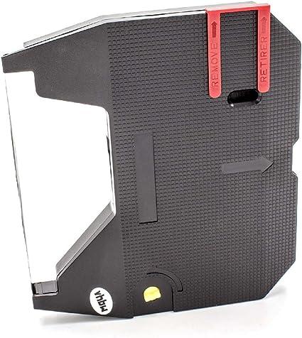 2737SC SQ3050 como 153C Correctable SQ1050 Cinta de Nailon de Tinta vhbw para Impresora matricial SQ3000 m/áquina de Escribir Samsung SQ1000
