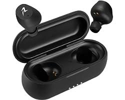 Redlemon Audífonos Inalámbricos Bluetooth 5.0 TWS con Base de Carga, Manos Libres, Sonido High Definition, Resistentes a Salp