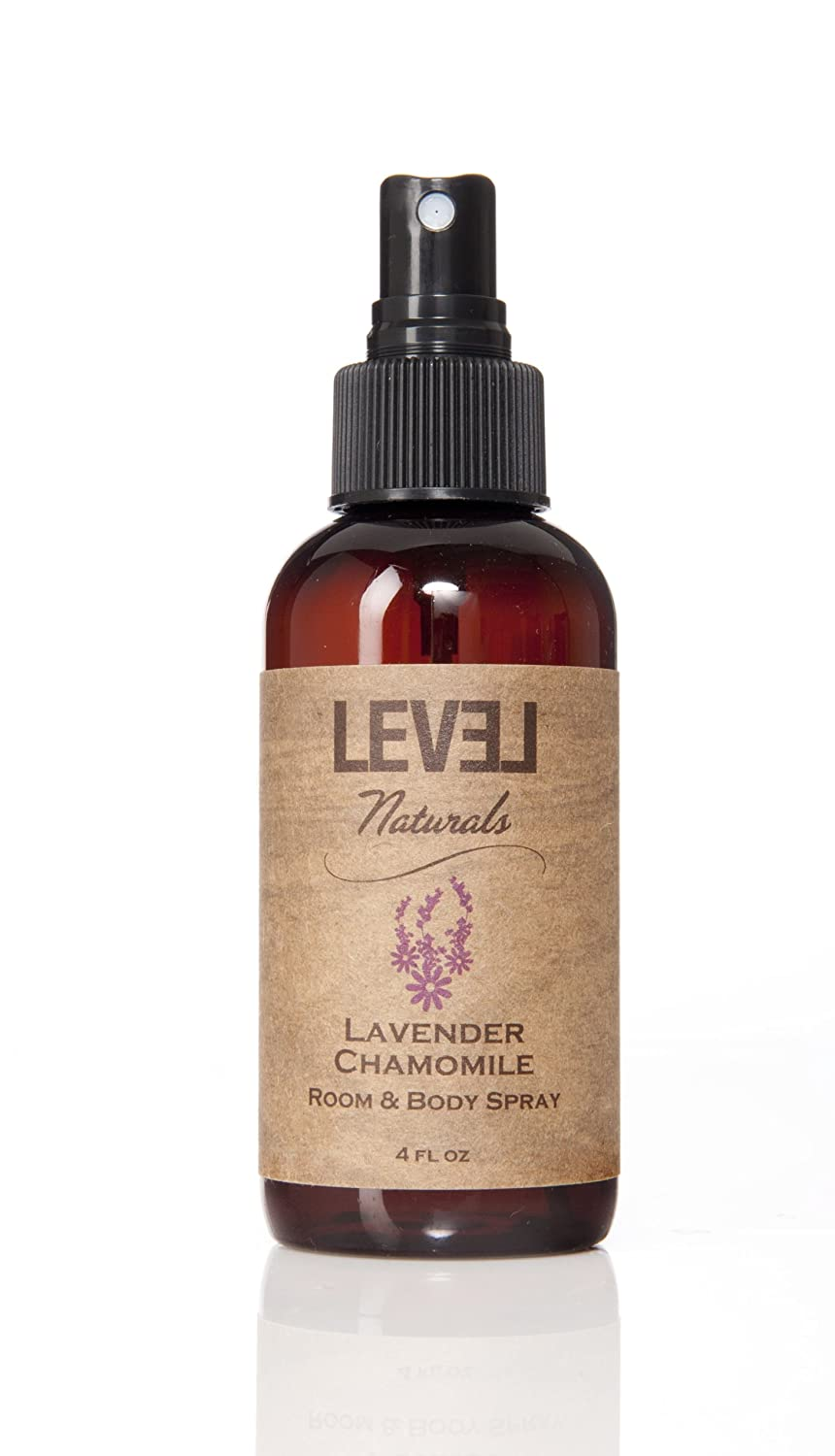 Aromatherapy 4oz All-Natural Room Spray by Level Naturals - Lavender Chamomile