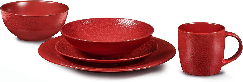 Servizio di stoviglie Rosso pietra colore Medard de Noblat