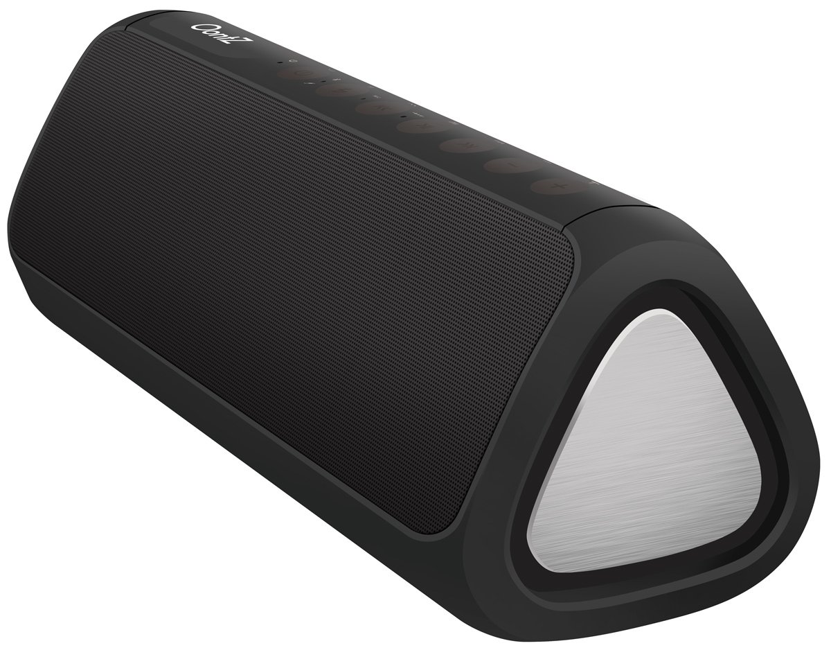 OontZ Angle 3XL Ultra : Portable Bluetooth Speaker, Enhanced Bass 24 Watts Power Louder Volume Superior Sound, 100ft Wireless Range, Play Two Together Music in Awesome Dual Stereo IPX5 SplashPro by Cambridge Soundworks