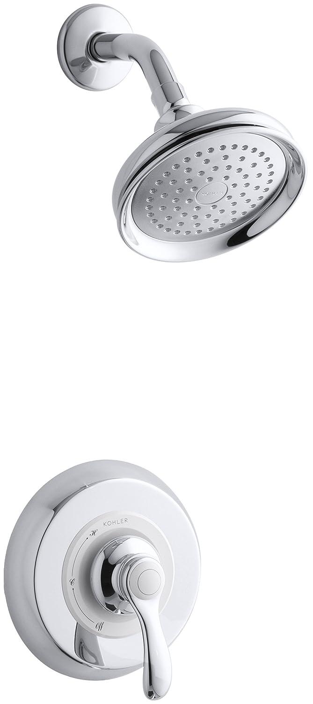 Gentil Kohler K T12014 4 CP Fairfax Rite Temp Pressure Balancing Shower Faucet  Trim With Lever Handle, Valve Not Included   Faucet Trim Kits   Amazon.com
