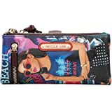Stylish Wallet For Women With Removable Zipper Pocket