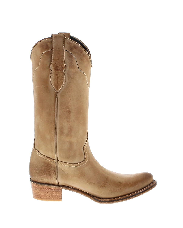 FB Fashion Stiefel Mayura Stiefel 2323 Beige Lederstiefel für für für Damen e354aa
